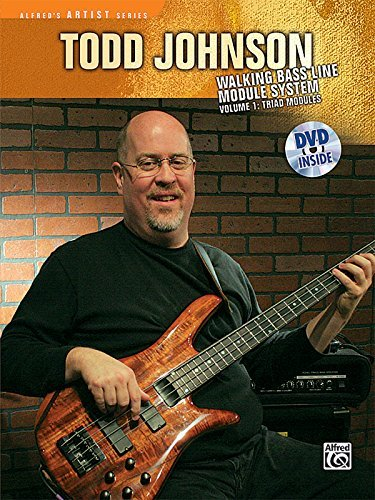 Todd Johnson Walking Bass Line Module System, Vol 1: Triad Modules (Alfred's Artist Series) (Johnson Bass)