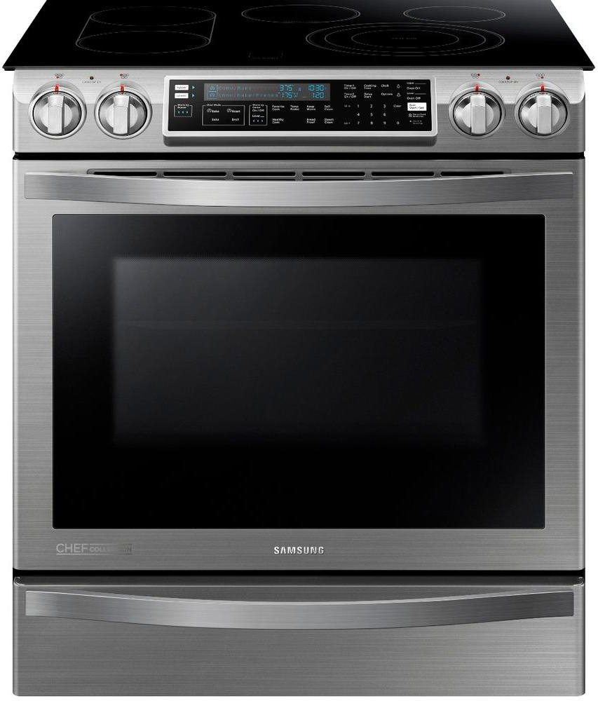 Samsung Ne58h9970ws Slide In Induction Range 30 Inch Dacor Wall Oven Wiring Diagram Stainless Steel Appliances