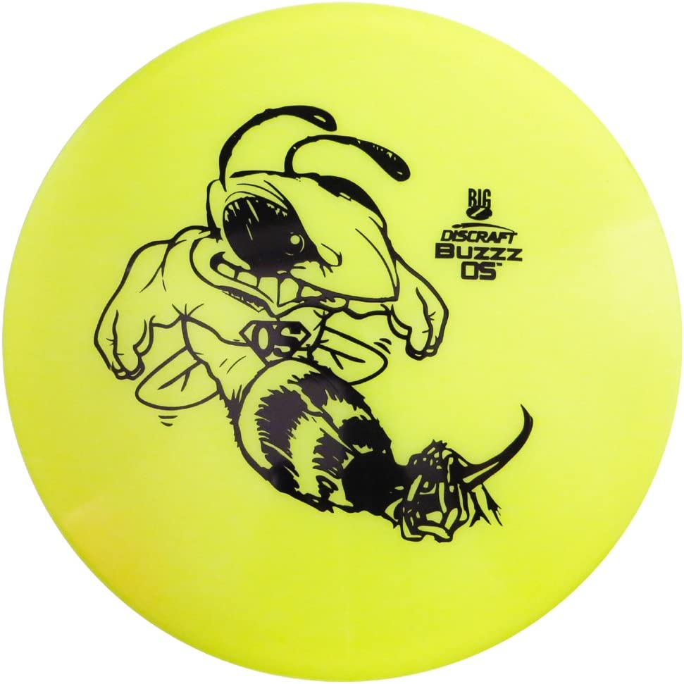 Discraft Big ZコレクションBuzzz OSミッドレンジGolf Disc [ Colors May Vary ]  177-178g