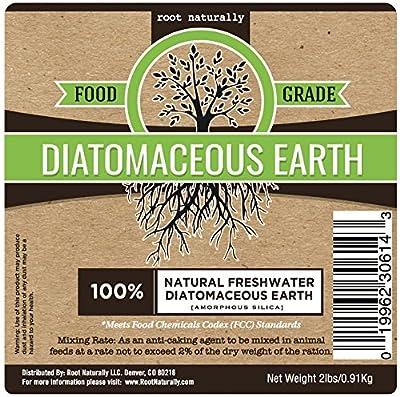 Root Naturally Food Grade Diatomaceous Earth - 2 Lb