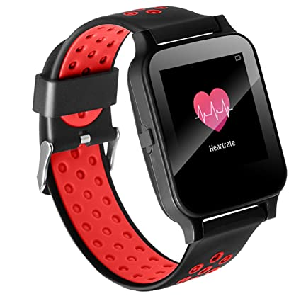Amazon.com: Smartwatch Bluetooth Digital Sport Watch Touch ...
