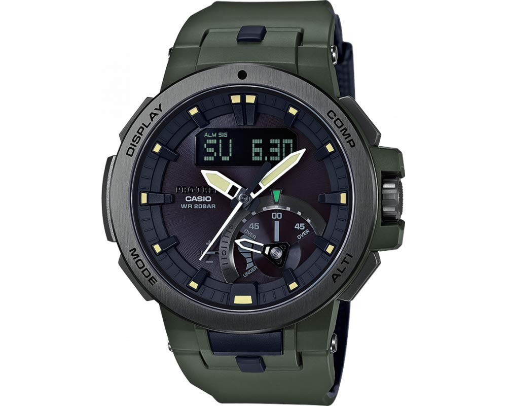 d1a7dfc43c1c Reloj casio PRO TREK PRW-7000-3ER Zafiro Solar Radiocontrolado  Altimetro-barometro Brujula Temperatura  Amazon.es  Hogar