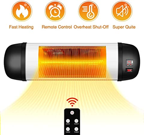 Infrared Terrace//Patio Heater 1000W New