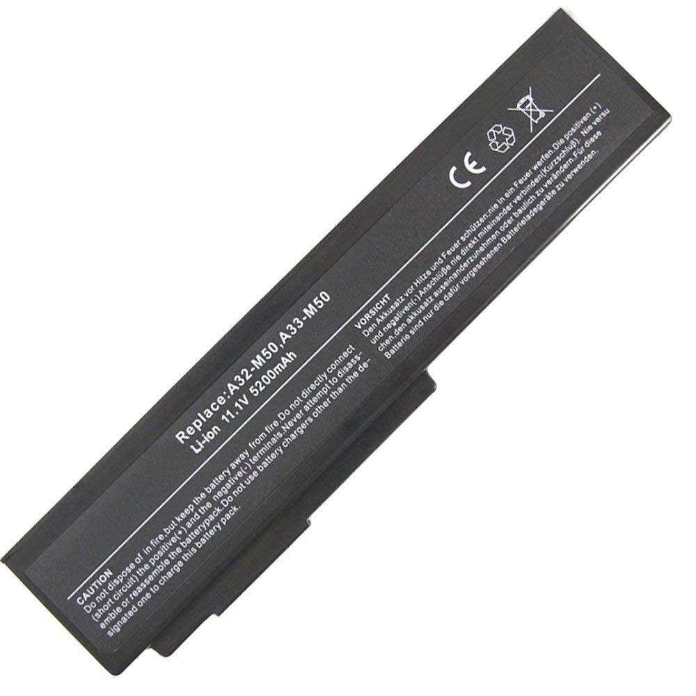 Bateria 5200mAh A32-N61 A32-M50 A33-M50 Asus M50 M60 N53 N53