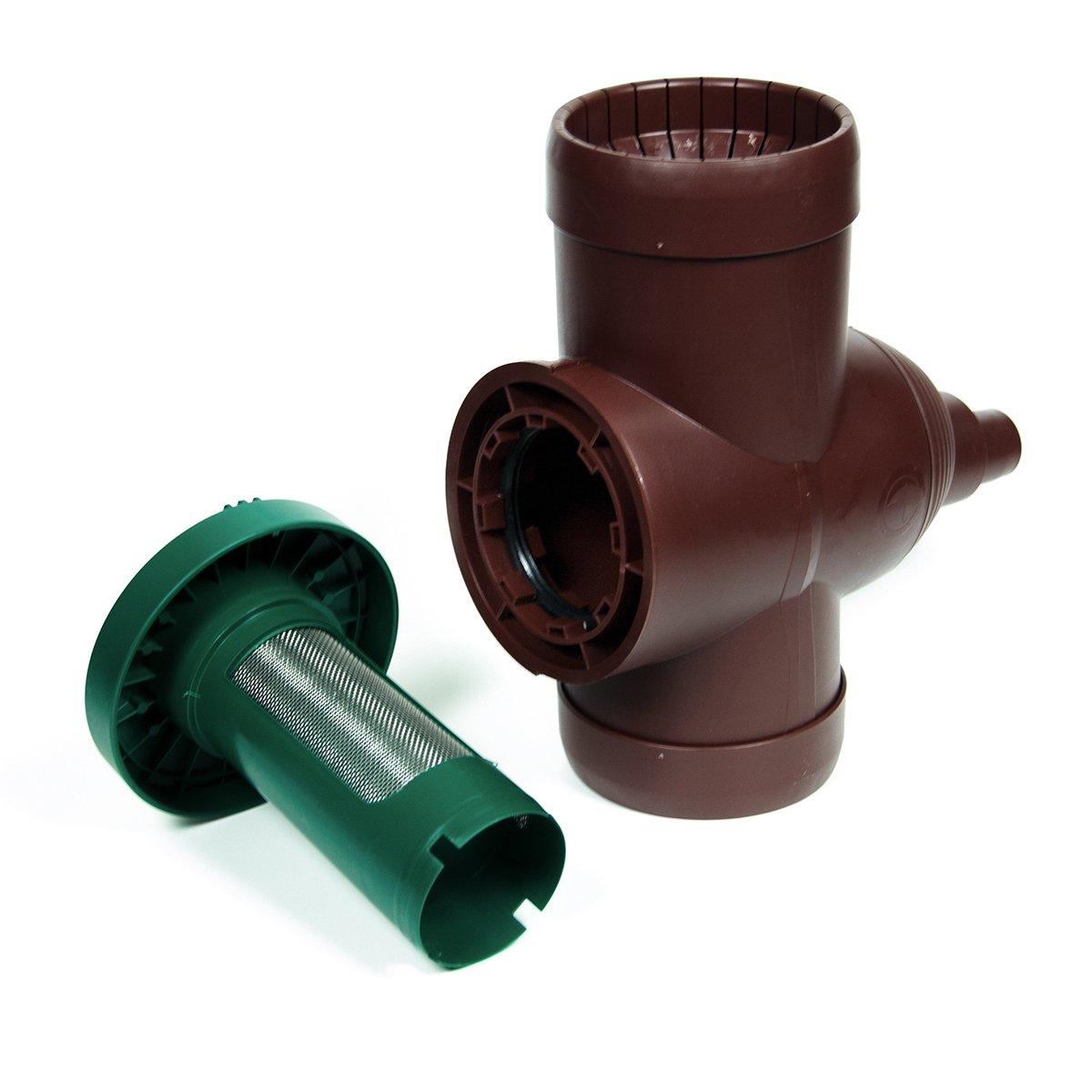 Beckmann V2 Collecteur filtrant pour r/écup/ération Eau de Pluie Marron