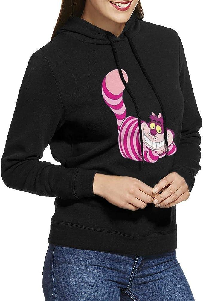 Mujer Hombre 3D Jersey Sudaderas con Capucha con Impresión Alicia en el País De Las Maravillas Gato de Cheshire