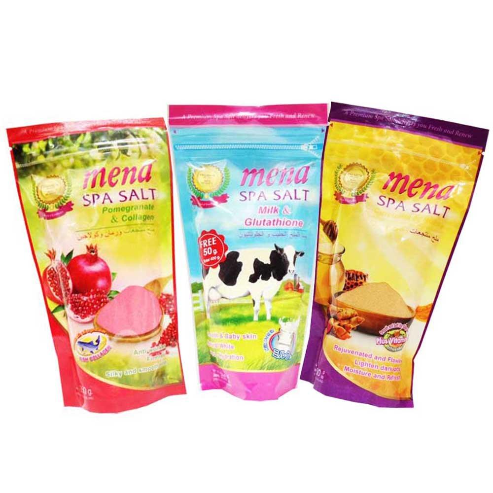 Mena spa salt Tamarind with honey 1 bag x 300 g.bye Bangkok premium.