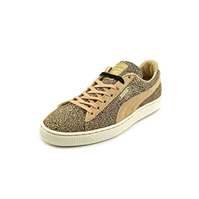 Puma x Solange Women Suede Classic Lines (brown / honey peach / black)-