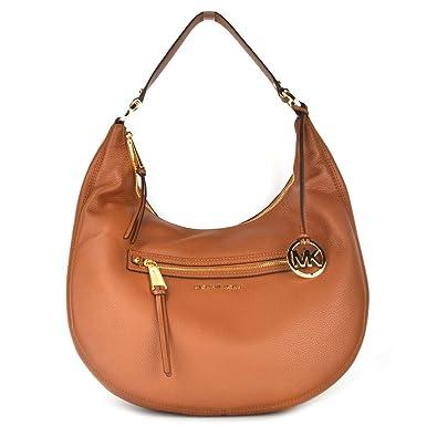 9f134203666c MICHAEL Michael Kors Rhea Tan Large Zip Shoulder Bag one size Tan ...