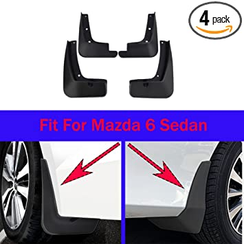 4 Mud Flaps Splash Guard Fender Car Mudguard for Jeep Cherokee 2014-2018