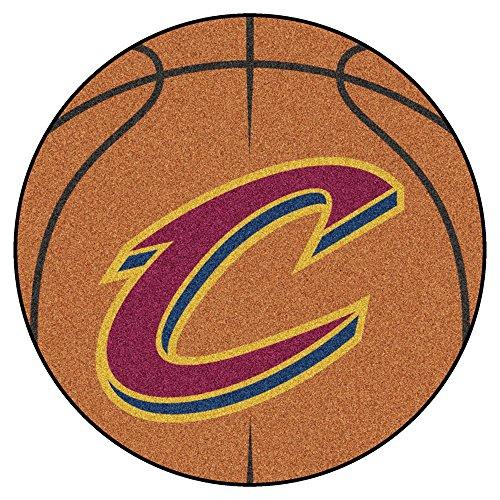 FANMATS NBA Cleveland Cavaliers Nylon Face Basketball Rug