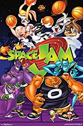 "Trends International Space Jam Collage Wall Poster 22.375"" X 34"""