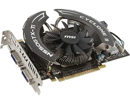 MSI N550GTX TI CYCLONE I MSI Global - The best gaming gears maker in the world