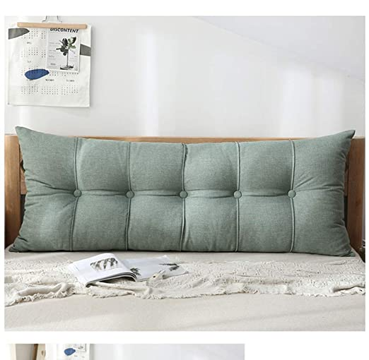 CJY-Cushion PP algodón extraíble de Noche Bolster Almohada ...