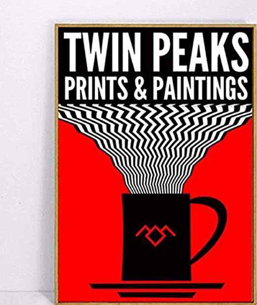 XQWZM Carteles de Lienzo Impresiones, Twin Peaks Fishion ...