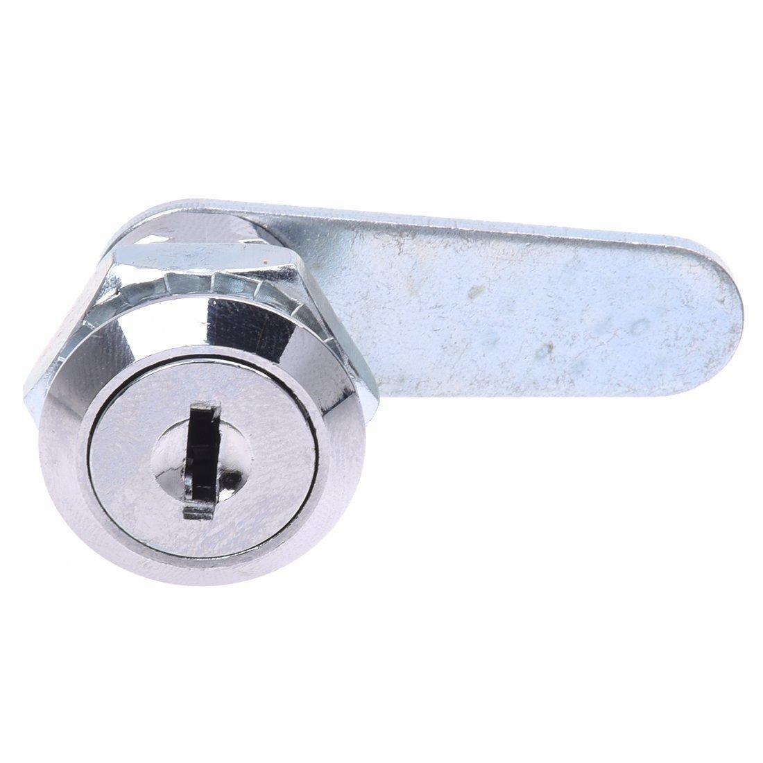 Romote (R della serratura della camma per la porta CASSETTA POSTALE ARMADIO CASSETTO 20mm + Keys