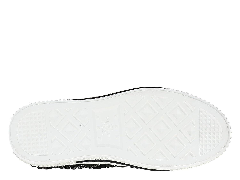 Stoff Herren Garavani Ny2s0898fzh0no Schwarz Sneakers Valentino clTFJK1