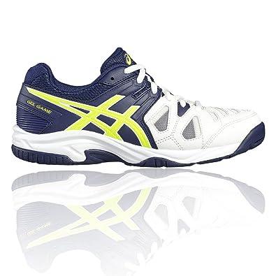 finest selection 1016f c5c88 ASICS Gel-Game 5 GS, Chaussures de Tennis Mixte Enfant