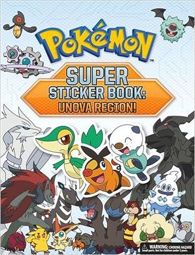 Pokémon Super Sticker Book: Unova Region! (Pokemon Pikachu