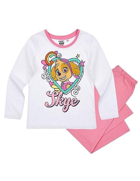 La Pat Patrouille - Pijama - para niña blanco/rosa 4 años : Amazon.es: Ropa y accesorios