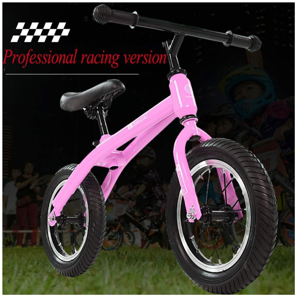 CHRISTMAD Baby Balance Bike Toddler Baby Walker No Pedale Giocattoli per Neonati Primo Regalo di Compleanno 2-5 Anni Ragazze,rosa