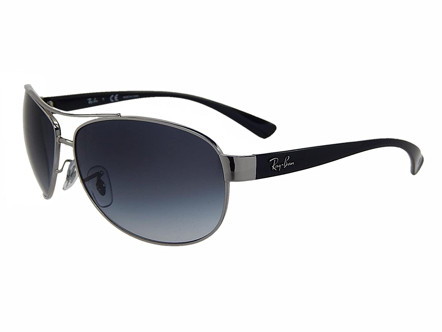 4a1208ed47 Amazon.com: New Ray Ban RB3386 003/8G Silver/Grey Gradient Lens 63mm  Sunglasses: Shoes