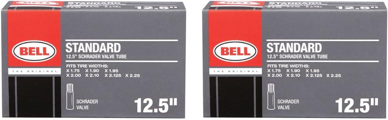 "2 New Bell Standard Value Pack Schrader Valve 20/"" Bike Tubes"