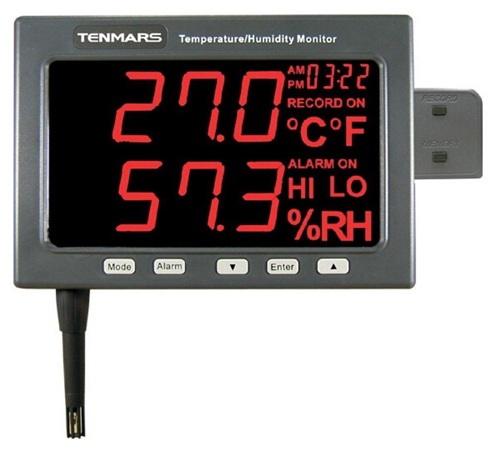 Amazon.com: SSEYL tm-185d Monitor LED de temperatura/humedad ...