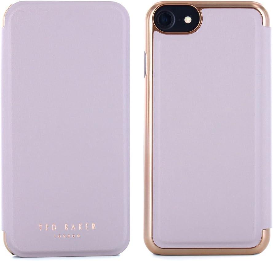 Ted Baker AW16 Shannon Espejo Funda para iPhone 7, Color Morado: Amazon.es: Electrónica