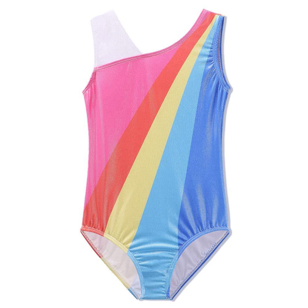 TFJH SHIRT ガールズ B07L9SPHDJ 8-9Years(Tag No.10A)|Rainbow Short Rainbow Short 8-9Years(Tag No.10A)