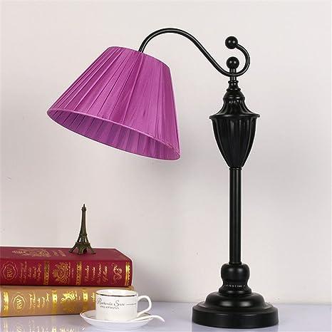 XIAOLE Lámpara de sobremesa dormitorio lámpara de noche simple ...
