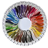 Shilpi Quilling Paper 1750 Strips Set - 3mm, 35 Colors, 35 packs