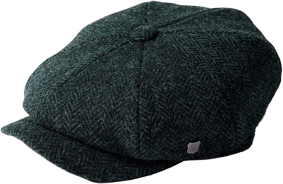 Failsworth Millinery Carloway Harris Tweed Baker Boy Cap Latest Version