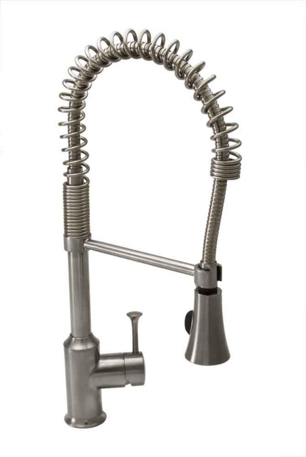 American Standard 4332.350.075 Pekoe Semi-Professional Single Control Kitchen Faucet, Stainless Steel
