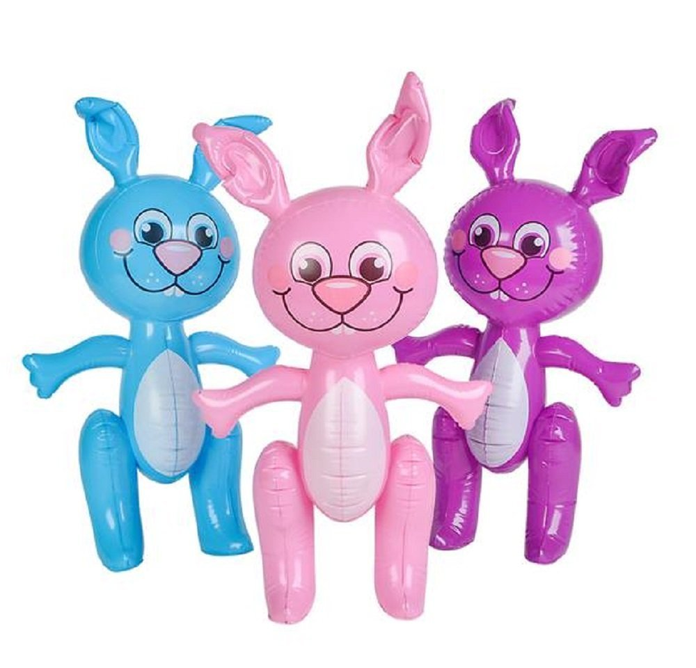 12 Easter Bunny 24'' BUNNIES INFLATE Blow Up Decoration