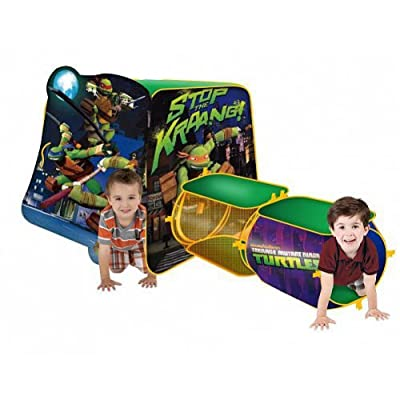 Playhut Teenage Mutant Ninja Turtles New Adventure Playhouse: Toys & Games