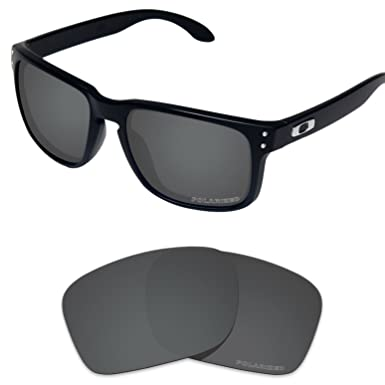 6f232477764 Tintart Performance Lenses Compatible with Oakley Holbrook Polarized  Etched-Carbon Black