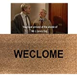 70cm x 40cm WECLOME Printed Internal Coir Mat, Door Mat Stencilled STILL GAME