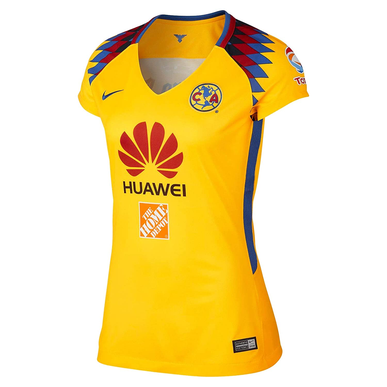 buy popular b33b2 dbf68 Nike Women's 2018 Club America 3rd Jersey at Amazon Women's ...