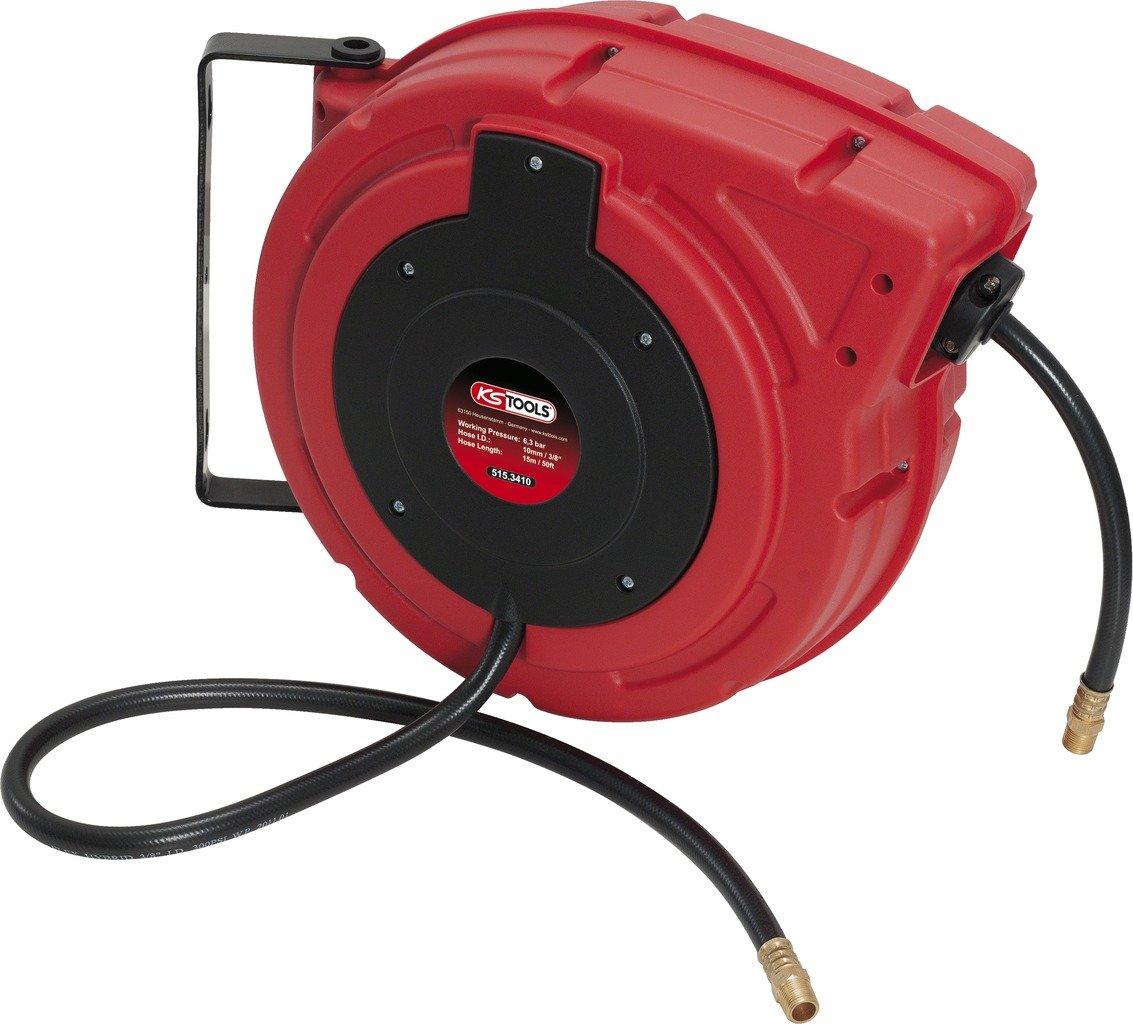 KS Tools 515.3410 Druckluft-Schlauchaufroller Ø 10mm, Anschluss 3/8' Anschluss 3/8 KS-Tools Werkzeuge-Maschine