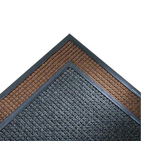 Crown - Super-Soaker Wiper Mat w/Gripper Bottom, Polypropyl, 34 x 119, Charcoal SSR310CH (DMi EA - Crown Super Soaker Wiper Mat