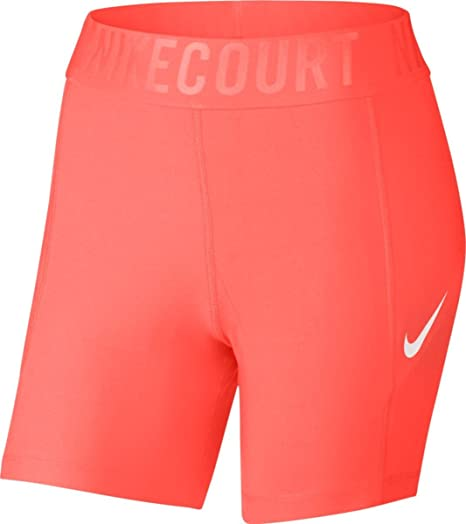 Amazon.com   Nike Court 5 Tennis Short Hyper Orange White Womens Shorts    Everything Else 326070b2ca