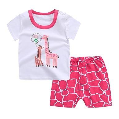 Feiliandajj Baby Boys Clothes Set 2pcs Kids Toddler Summer Cute