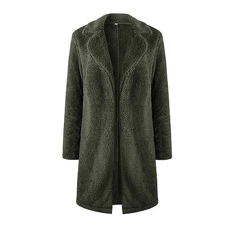 236bbedbb98e Meedot Damen Cardigan Lang Mantel Winterjacke Kapuzenjacke Parka Trenchcoat  Lang Jacken Outwear Langarm Strickjacken Winter Coat Gelb Rot L-5XL   Amazon.de  ...