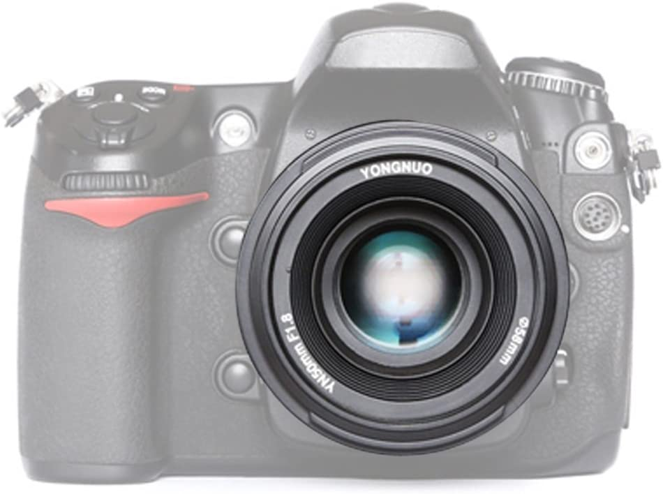 Yongnuo YN50MM F1,8 Lente Objetivo (Apertura F/1,8) Para Nikon ...