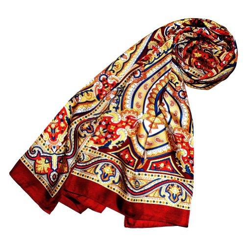 Womens Italian Silk - Lorenzo Cana Italian Silk Scarf 100% pure Silk 20