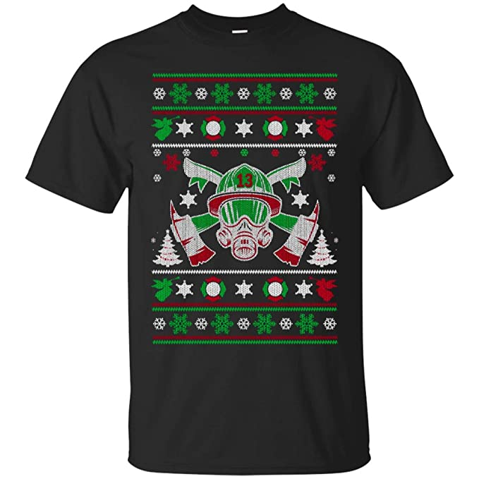 firefighter christmas firefighter gifts shirt