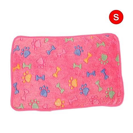 Manta para perros, almohadilla para gatos, estera para perros manta súper suave y cálida