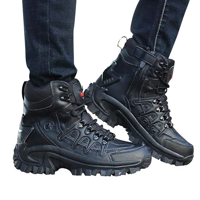 Botas de Hombre Casuales Deporte Zapatos de Vestir Hombre 2019 ...