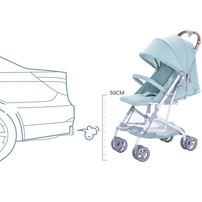QQB &Carro Plegable Carro de bebé Ligero Plegable/Cochecito ...